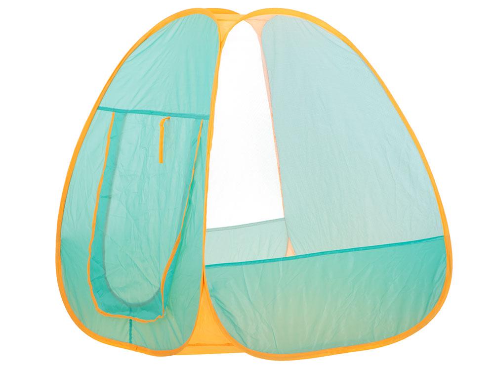Namiot dla Dzieci Campingowy Piknikowy Ogrodowy z Akcesoriami Zielony - VivoSklep.pl 2