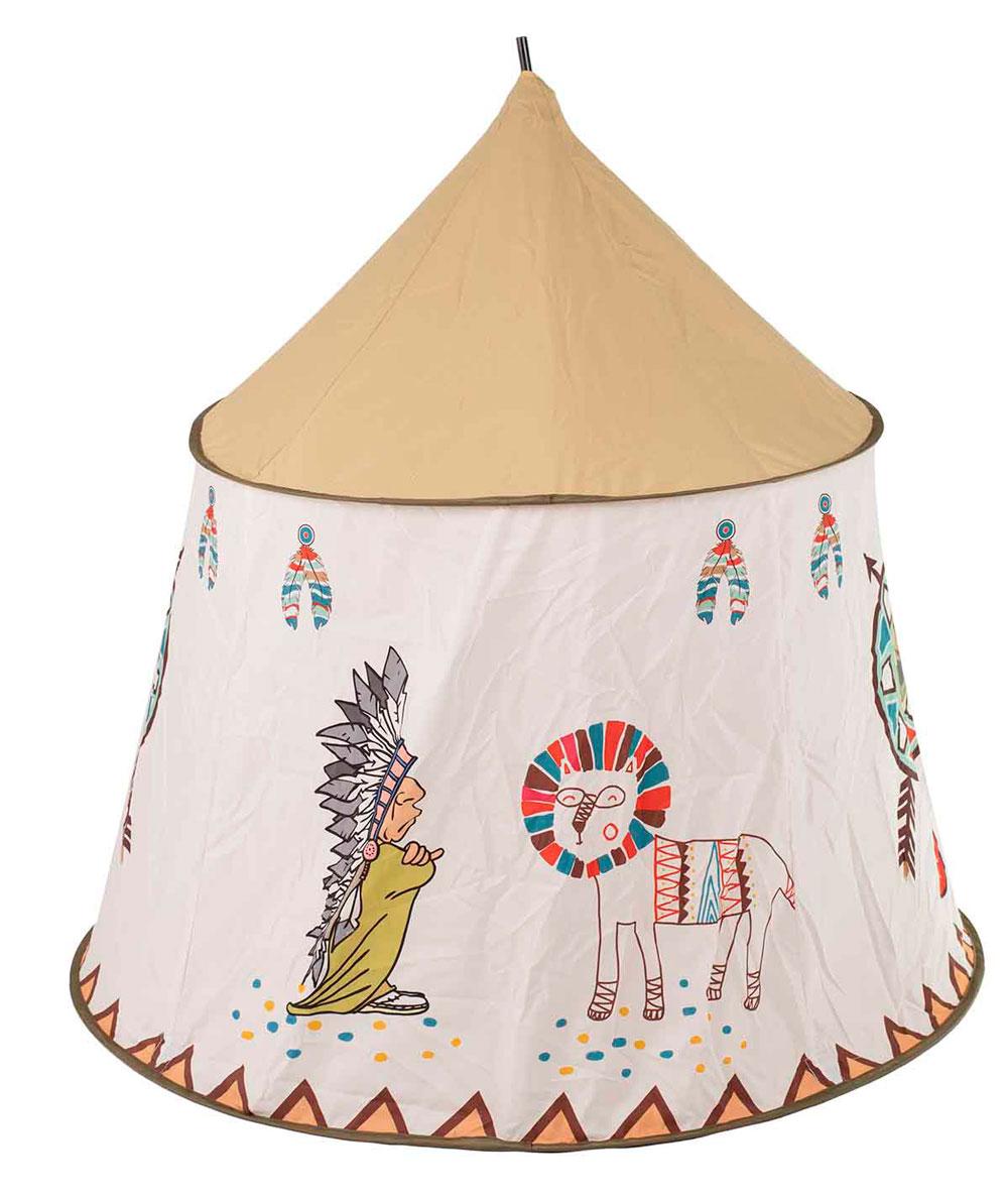 Namiot Domek dla Dzieci TIPI WIGWAM Indiański do Domu Ogrodu 110CM – VivoSklep.pl 3