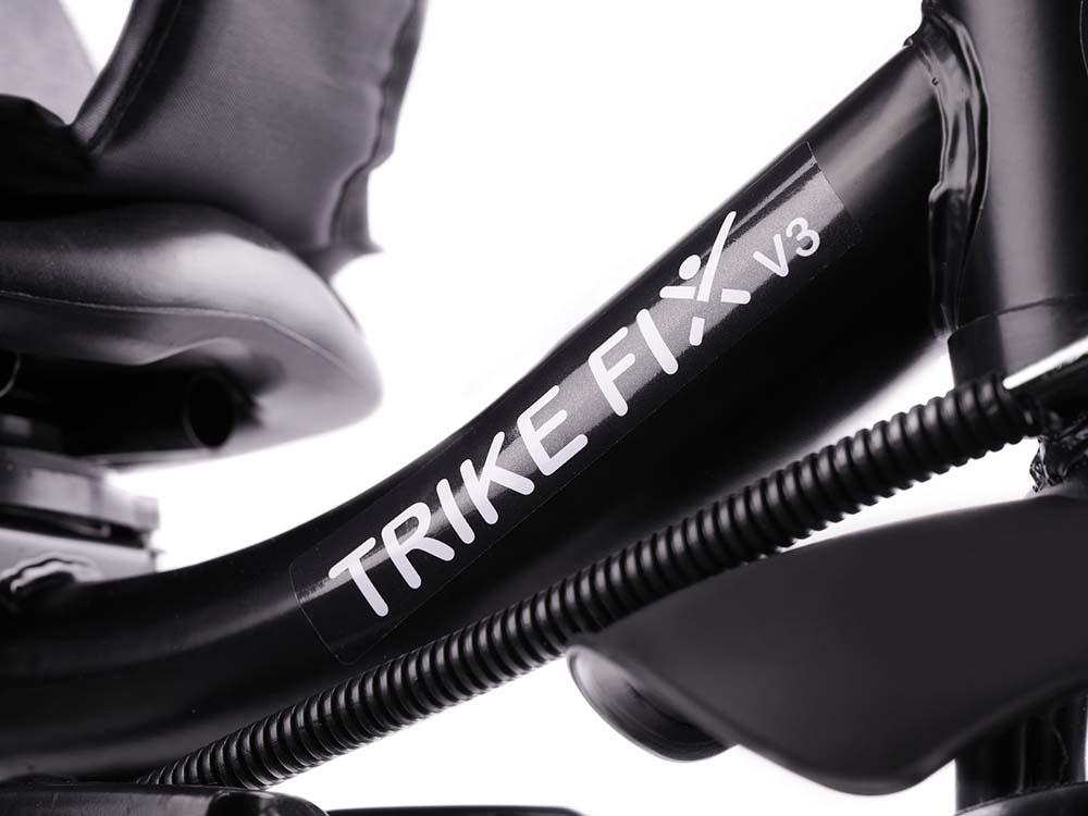 Rowerek TRIKE FIX V3 LITE Trójkołowy Dziecięcy Z Prowadnikiem 2w1 Lekki Szary - VivoSklep.pl 14