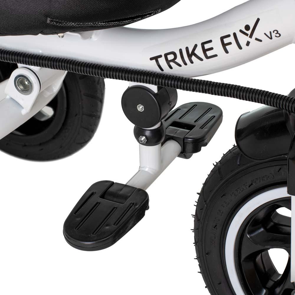 Rowerek TRIKE FIX V3 Trójkołowy Dla Dziecka Spacerówka 2w1 Z Prowadnikiem Czarny - VivoSklep.pl 20