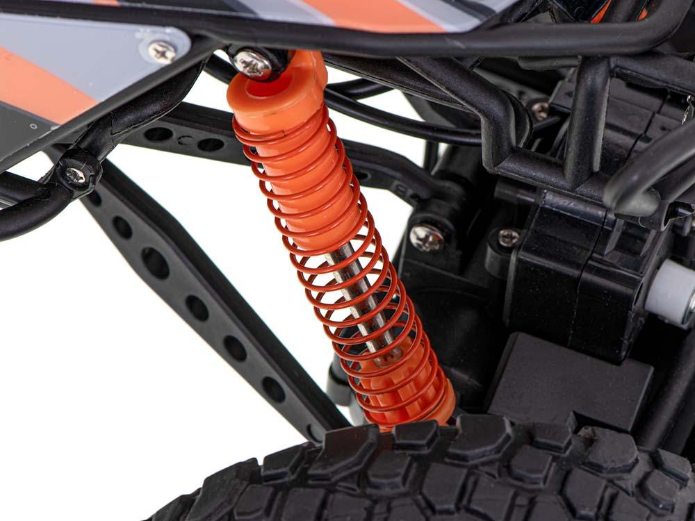 Samochód RC CRAWLER CLIMBING CAR Sterowany Terenowy Duży 48CM 1:10 Pomarańczowy - VivoSklep.pl 7