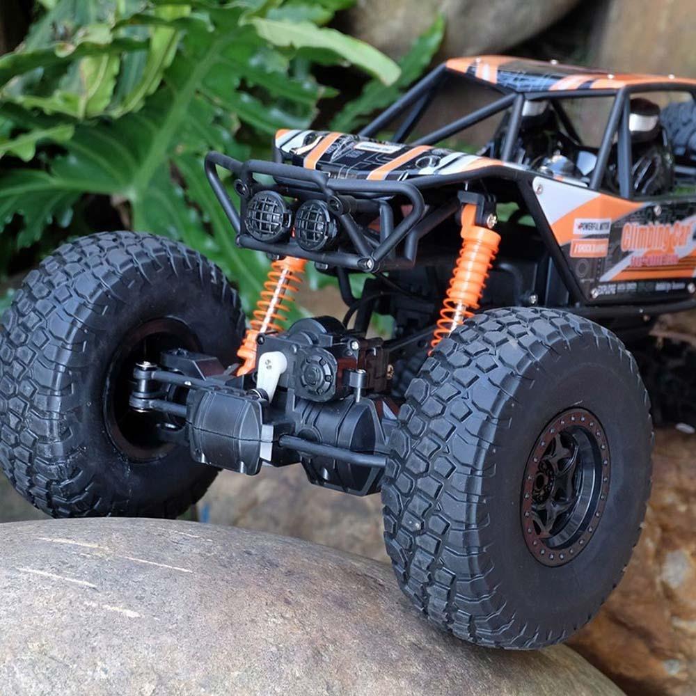 Samochód RC CRAWLER CLIMBING CAR Sterowany Terenowy Duży 48CM 1:10 Pomarańczowy - VivoSklep.pl 19