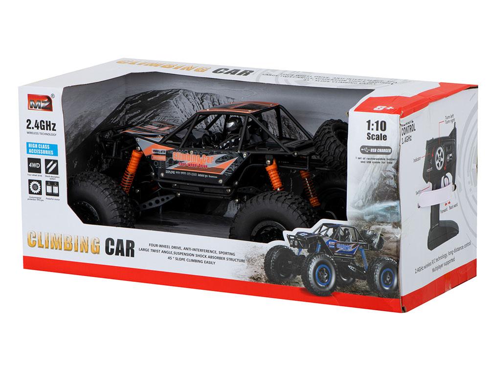 Samochód RC CRAWLER CLIMBING CAR Sterowany Terenowy Duży 48CM 1:10 Pomarańczowy - VivoSklep.pl 16