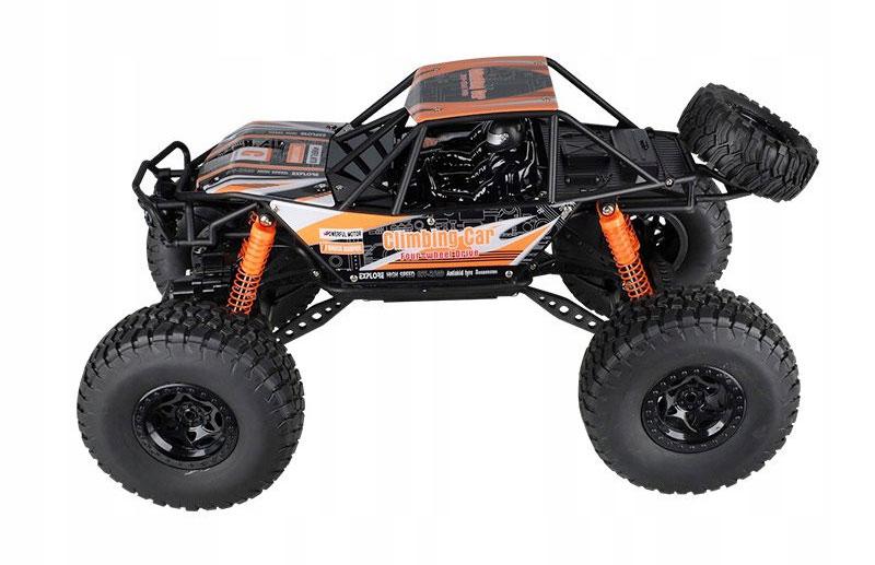 Samochód RC CRAWLER CLIMBING CAR Sterowany Terenowy Duży 48CM 1:10 Pomarańczowy - VivoSklep.pl 13