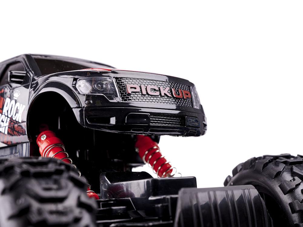 Samochód RC PICKUP ROCK CRAWLER HB Terenowy Zdalnie Sterowany 4x4 Czerwony - VivoSklep.pl 4