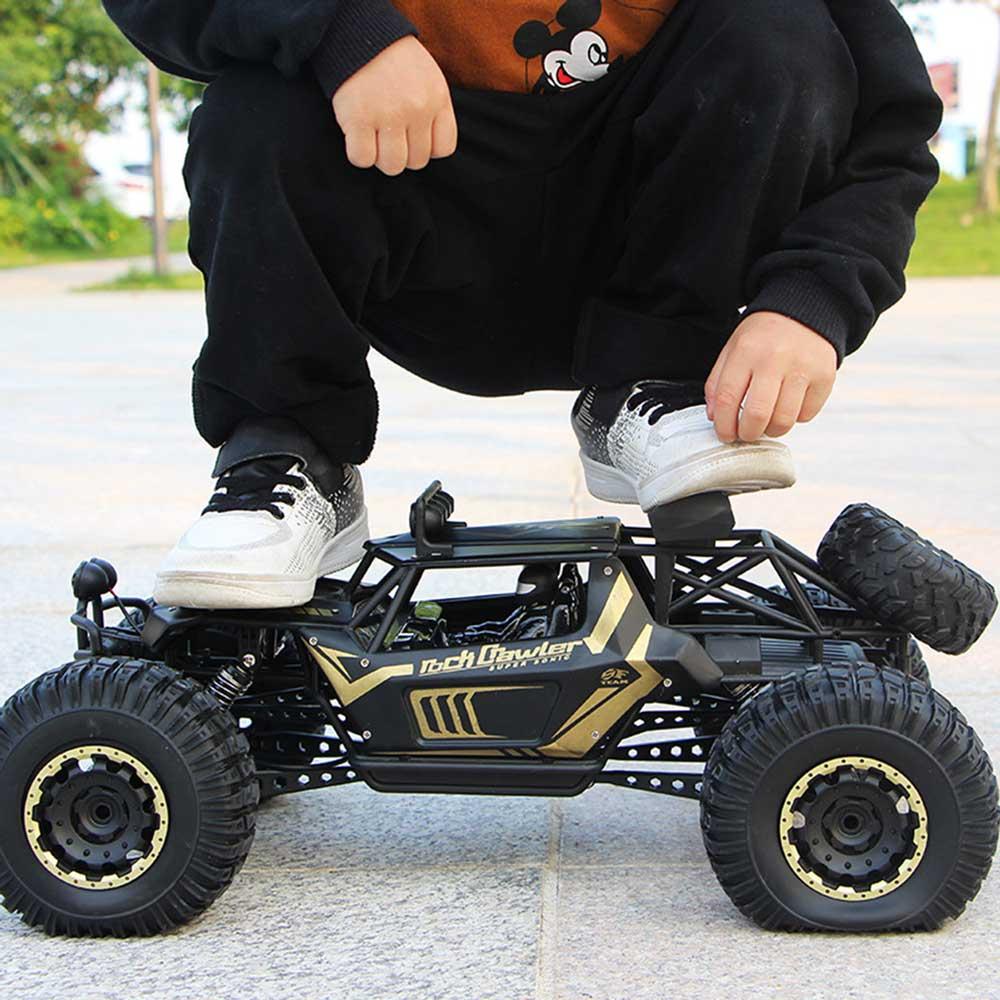 Samochód RC ROCK CRAWLER Buggy Duży 51cm 1:8 Metalowy 2028 E19256 Złoty - VivoSklep.pl 1