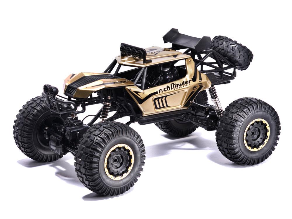Samochód RC ROCK CRAWLER Buggy Duży 51cm 1:8 Metalowy 2028 E19256 Złoty - VivoSklep.pl 6