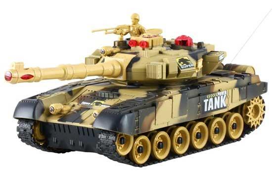 Zestaw 2 Czołgi RC 9993 T90 War Tank Strzelające na Podczerwień - VivoSklep.pl 25