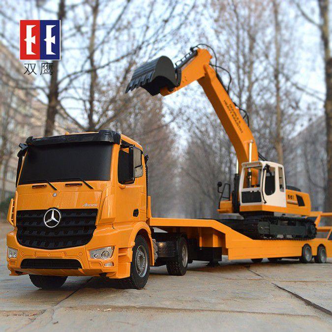 Ciężarówka i Laweta RC MERCEDES AROCS Double Eagle EE 562 003 Zdalnie Sterowana Duża 86CM – VivoSklep.pl 21
