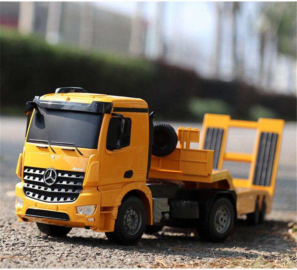 Ciężarówka i Laweta RC MERCEDES AROCS Double Eagle EE 562 003 Zdalnie Sterowana Duża 86CM – VivoSklep.pl 1