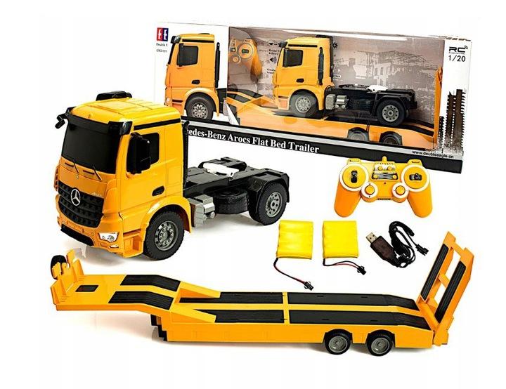 Ciężarówka i Laweta RC MERCEDES AROCS Double Eagle EE 562 003 Zdalnie Sterowana Duża 86CM – VivoSklep.pl 22