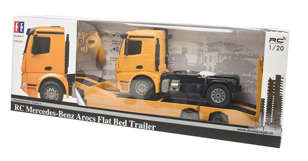 Ciężarówka i Laweta RC MERCEDES AROCS Double Eagle EE 562 003 Zdalnie Sterowana Duża 86CM – VivoSklep.pl 24