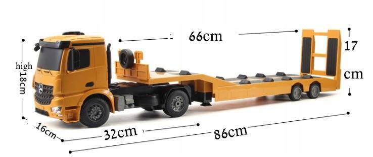 Ciężarówka i Laweta RC MERCEDES AROCS Double Eagle EE 562 003 Zdalnie Sterowana Duża 86CM – VivoSklep.pl 12