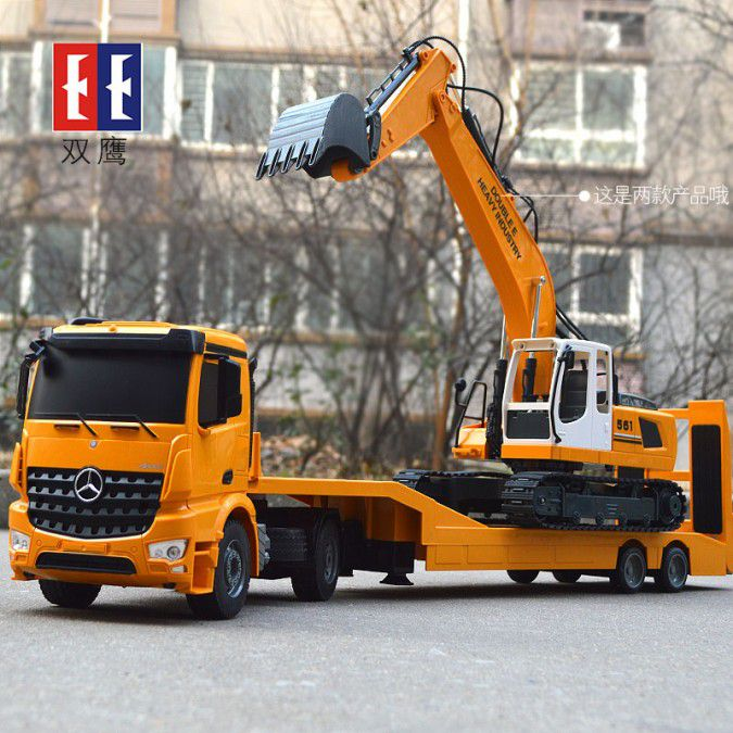 Ciężarówka i Laweta RC MERCEDES AROCS Double Eagle EE 562 003 Zdalnie Sterowana Duża 86CM – VivoSklep.pl 11