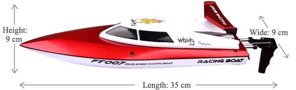Łódź RC FEILUN FT007 VITALITY Racing Boat Szybka Motorówka Wyścigowa 25km/h – VivoSklep.pl 17