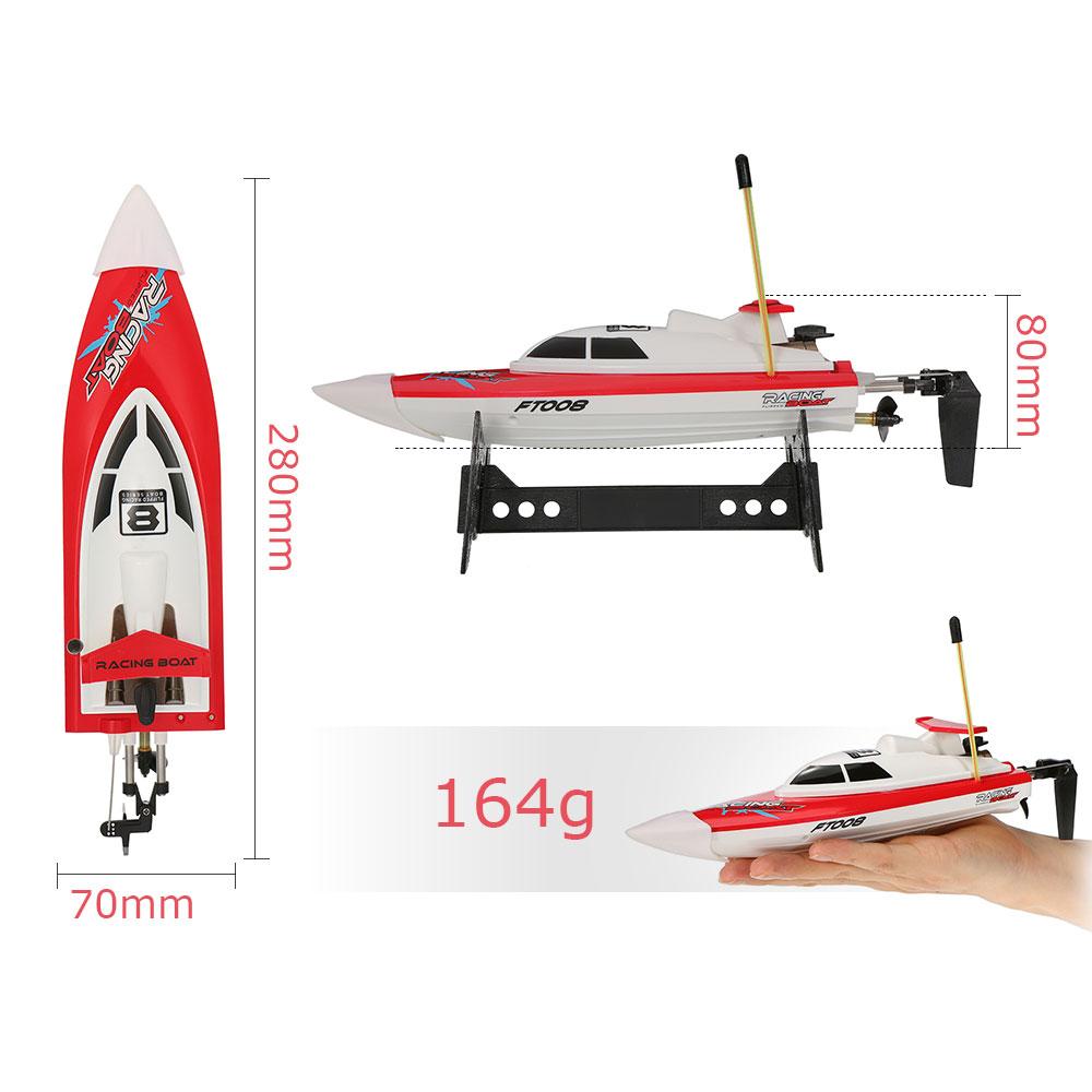 Łódź RC FEILUN FT008 Racing Boat High Speed Motorówka Zdalnie Sterowana 14 km/h – VivoSklep.pl 9
