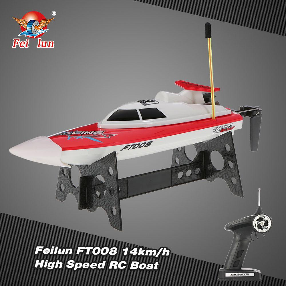 Łódź RC FEILUN FT008 Racing Boat High Speed Motorówka Zdalnie Sterowana 14 km/h – VivoSklep.pl 1