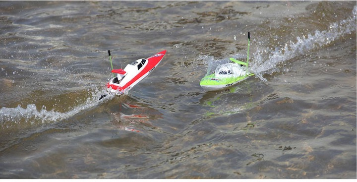 Łódź RC FEILUN FT008 Racing Boat High Speed Motorówka Zdalnie Sterowana 14 km/h – VivoSklep.pl 15