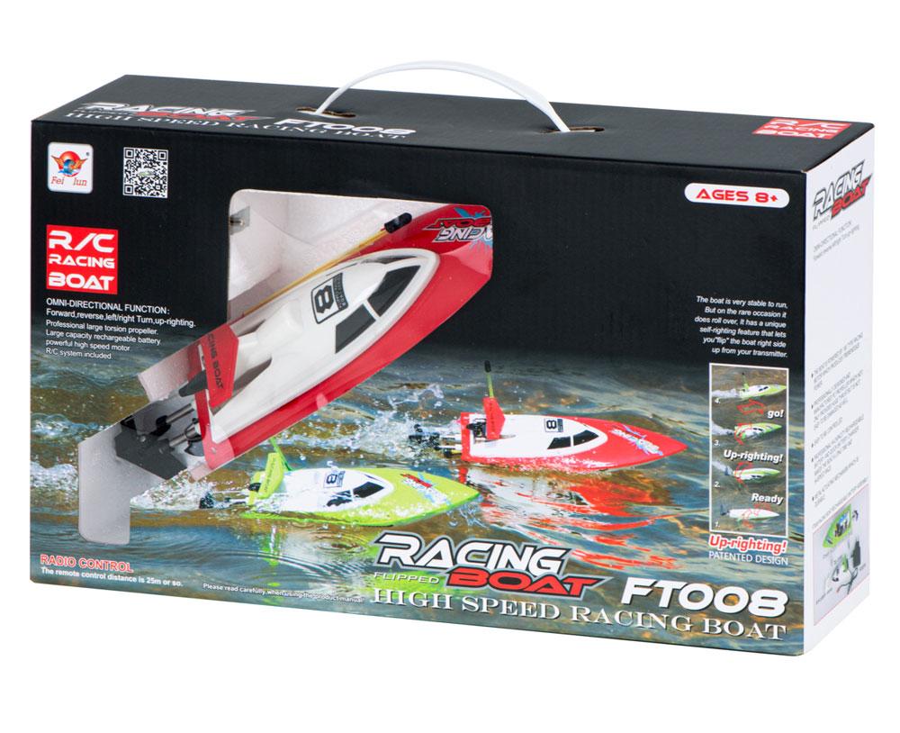 Łódź RC FEILUN FT008 Racing Boat High Speed Motorówka Zdalnie Sterowana 14 km/h – VivoSklep.pl 19