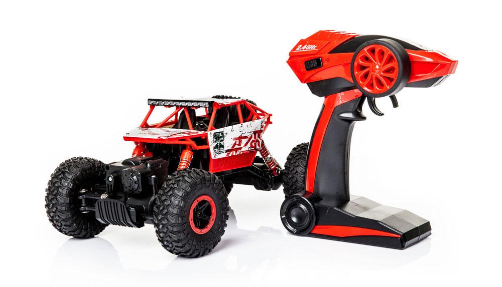 Samochód RC ROCK CRAWLER HB Toys 1:18 Terenowy Zdalnie Sterowany 2,4Ghz Czerwony - VivoSklep.pl 14