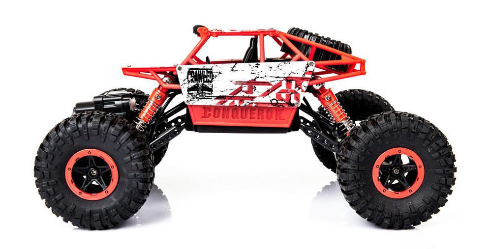 Samochód RC ROCK CRAWLER HB Toys 1:18 Terenowy Zdalnie Sterowany 2,4Ghz Czerwony - VivoSklep.pl 4