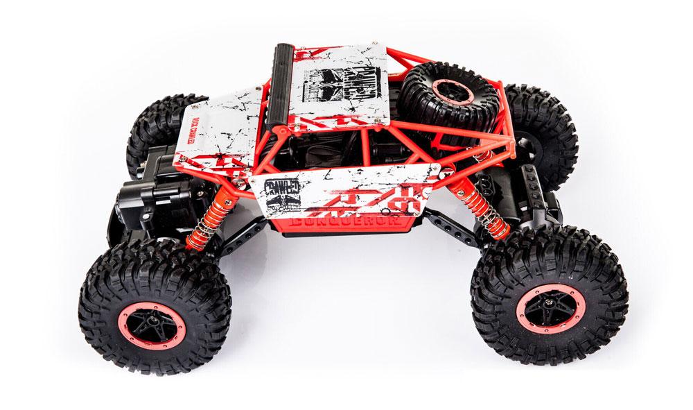 Samochód RC ROCK CRAWLER HB Toys 1:18 Terenowy Zdalnie Sterowany 2,4Ghz Czerwony - VivoSklep.pl 5