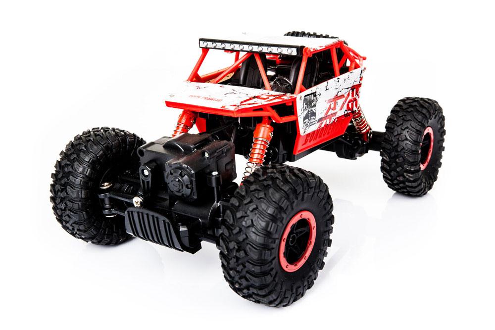 Samochód RC ROCK CRAWLER HB Toys 1:18 Terenowy Zdalnie Sterowany 2,4Ghz Czerwony - VivoSklep.pl 2
