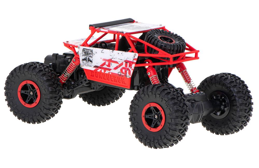 Samochód RC ROCK CRAWLER HB Toys 1:18 Terenowy Zdalnie Sterowany 2,4Ghz Czerwony - VivoSklep.pl 9