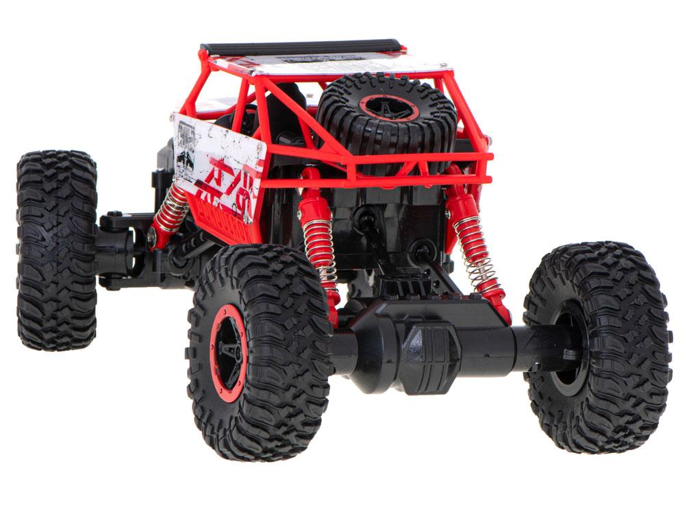 Samochód RC ROCK CRAWLER HB Toys 1:18 Terenowy Zdalnie Sterowany 2,4Ghz Czerwony - VivoSklep.pl 10