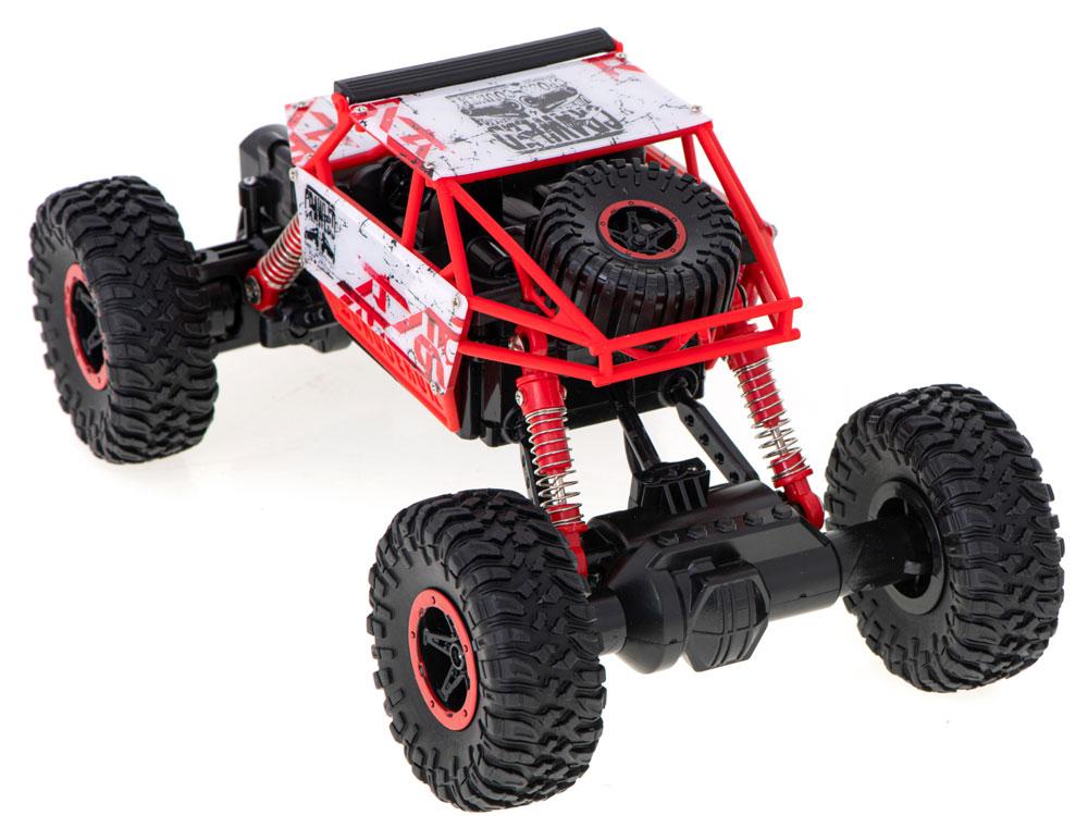 Samochód RC ROCK CRAWLER HB Toys 1:18 Terenowy Zdalnie Sterowany 2,4Ghz Czerwony - VivoSklep.pl 8