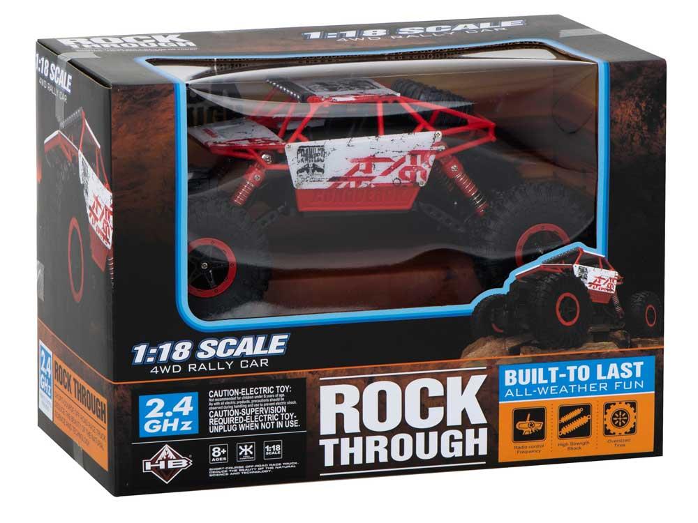 Samochód RC ROCK CRAWLER HB Toys 1:18 Terenowy Zdalnie Sterowany 2,4Ghz Czerwony - VivoSklep.pl 13