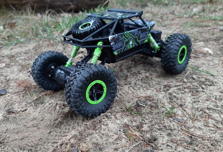 Samochód RC ROCK CRAWLER HB Toys 1:18 Terenowy Zdalnie Sterowany 2,4Ghz Zielony – VivoSklep.pl 14