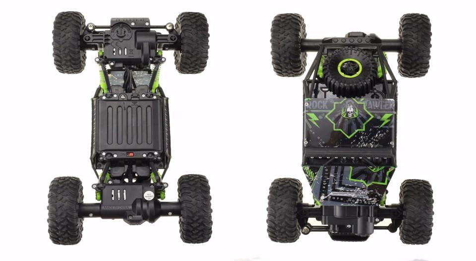 Samochód RC ROCK CRAWLER HB Toys 1:18 Terenowy Zdalnie Sterowany 2,4Ghz Zielony – VivoSklep.pl 9