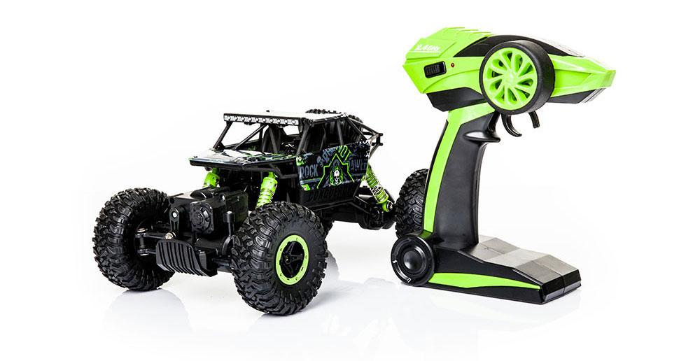 Samochód RC ROCK CRAWLER HB Toys 1:18 Terenowy Zdalnie Sterowany 2,4Ghz Zielony – VivoSklep.pl 16