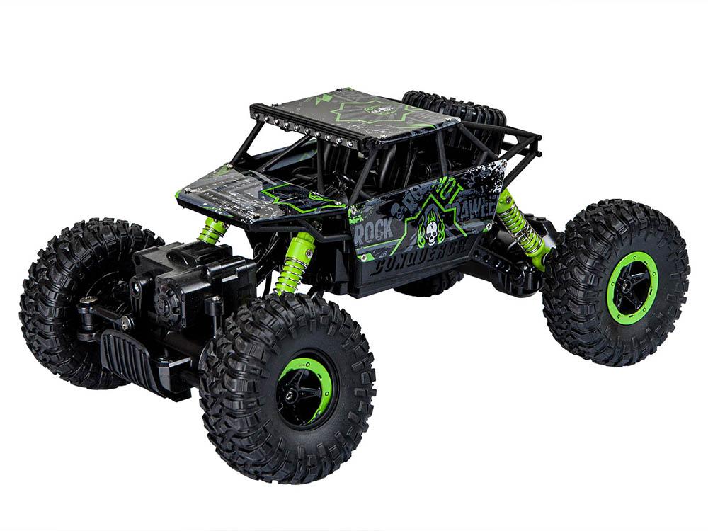 Samochód RC ROCK CRAWLER HB Toys 1:18 Terenowy Zdalnie Sterowany 2,4Ghz Zielony – VivoSklep.pl 3