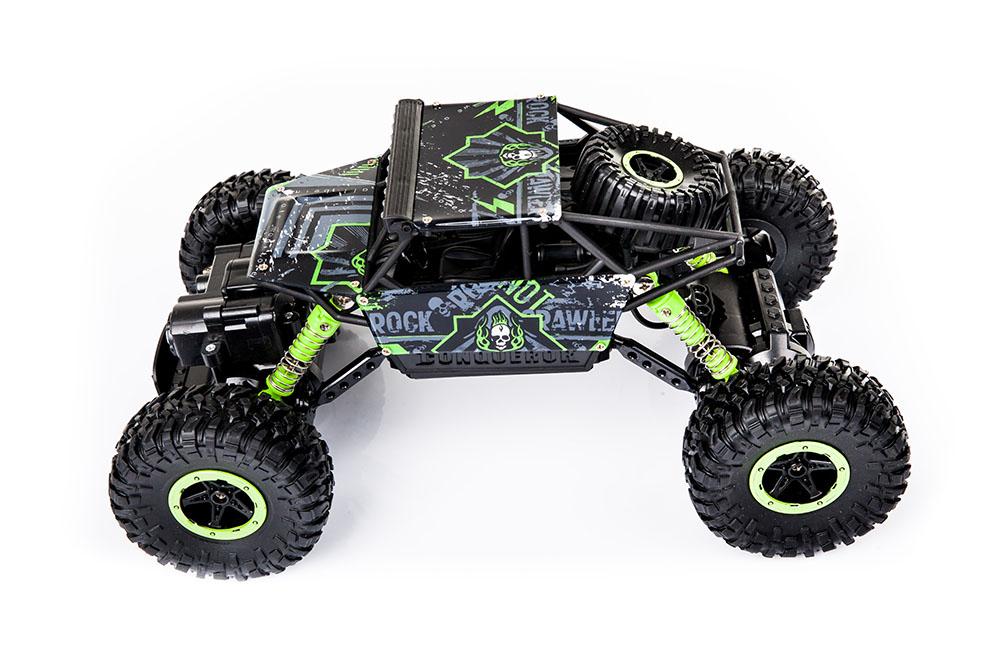 Samochód RC ROCK CRAWLER HB Toys 1:18 Terenowy Zdalnie Sterowany 2,4Ghz Zielony – VivoSklep.pl 5