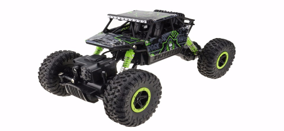 Samochód RC ROCK CRAWLER HB Toys 1:18 Terenowy Zdalnie Sterowany 2,4Ghz Zielony – VivoSklep.pl 10