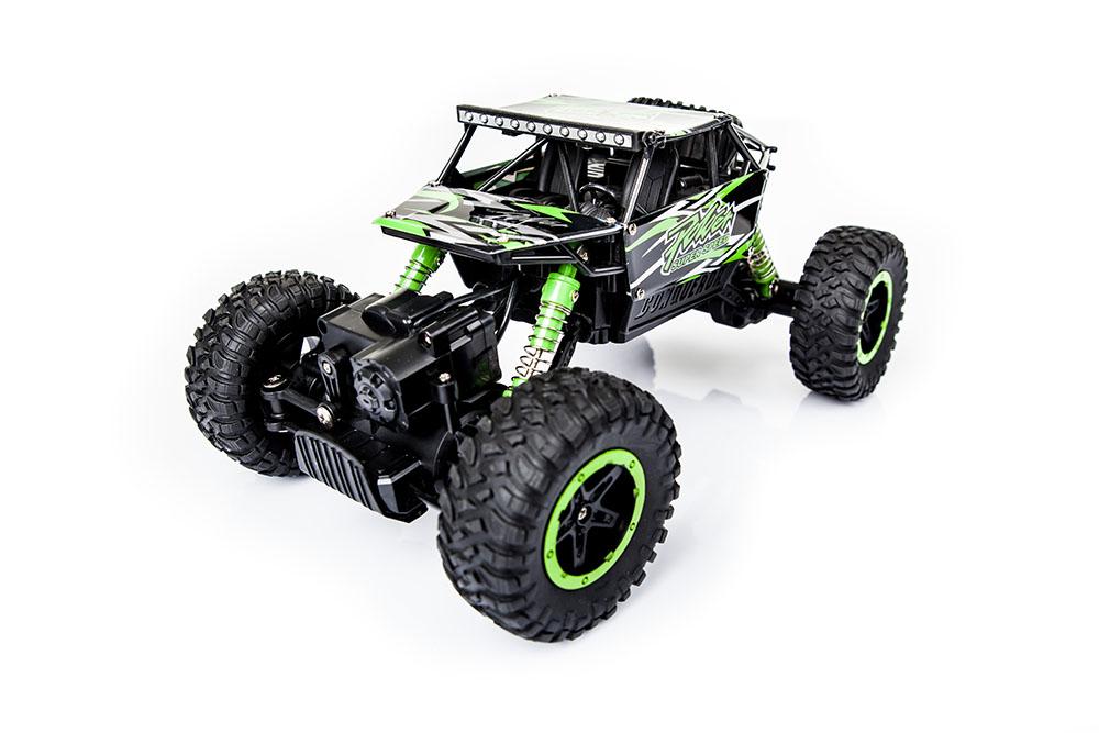 Samochód RC ROCK CRAWLER HB Toys 1:18 Terenowy Zdalnie Sterowany 2,4Ghz Zielony – VivoSklep.pl 2