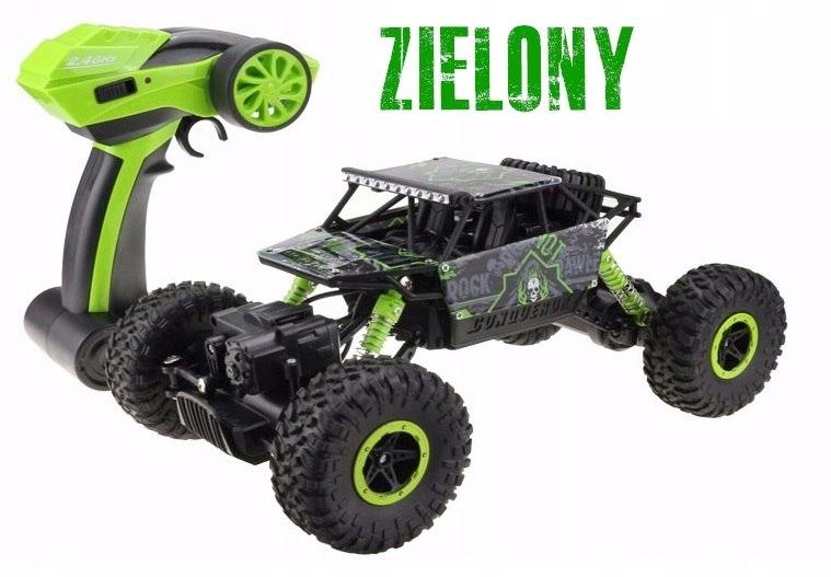 Samochód RC ROCK CRAWLER HB Toys 1:18 Terenowy Zdalnie Sterowany 2,4Ghz Zielony – VivoSklep.pl 13