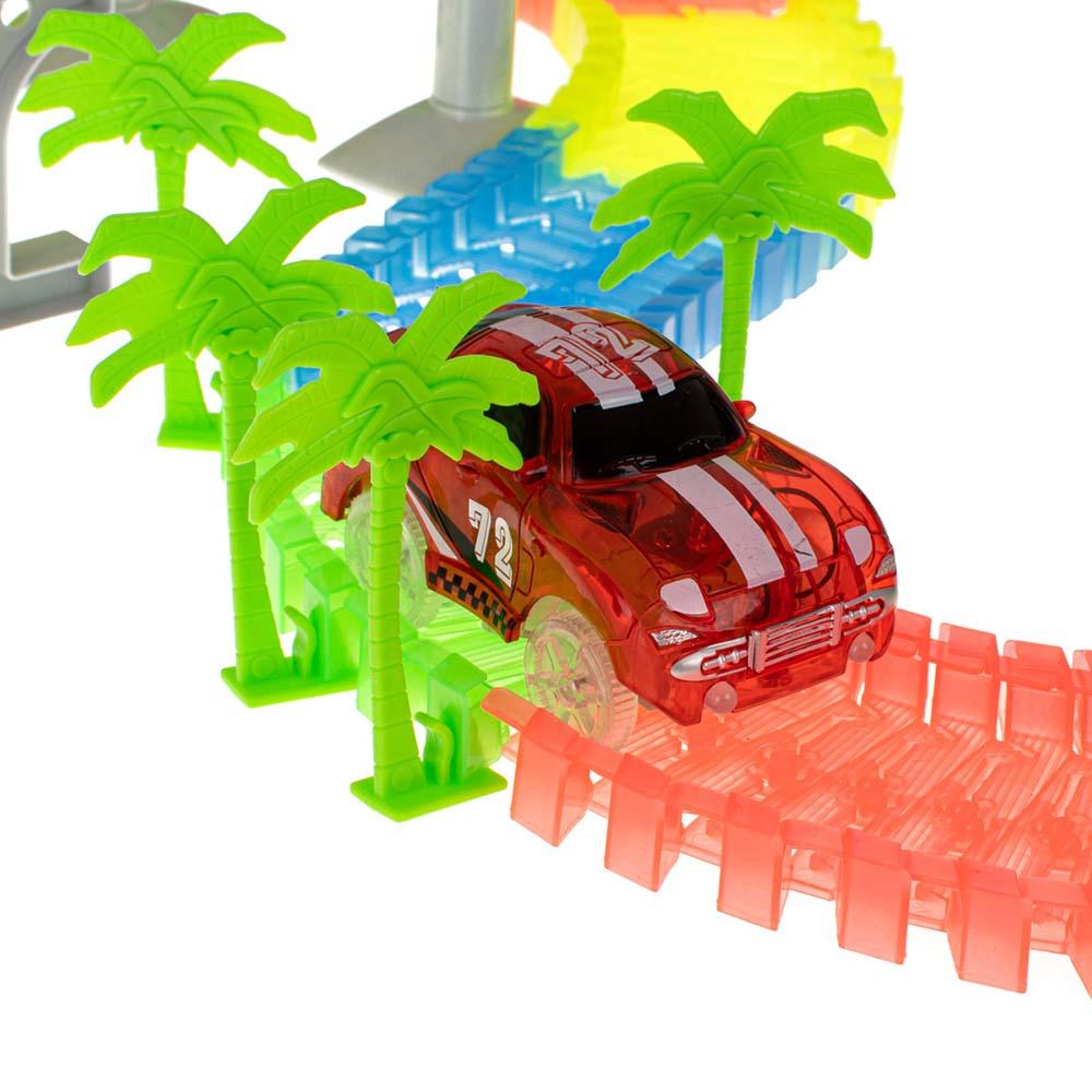 Tor Samochodowy LUMINOUS TRACK dla Dzieci Świecący + Samochód na Baterie 234EL – VivoSklep.pl 5