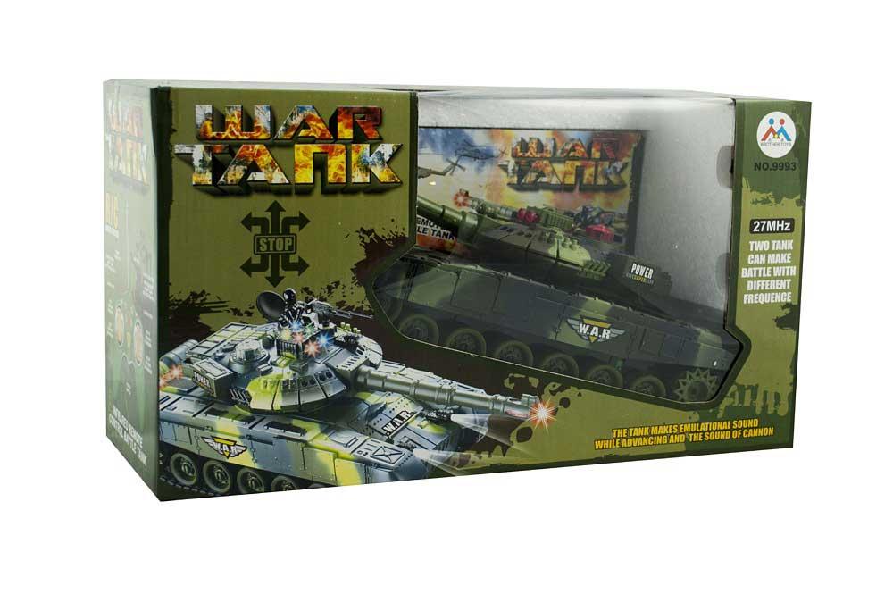Czołg RC 9993 War Tank Zdalnie Sterowany na Podczerwień 2,4Ghz - VivoSklep.pl 7