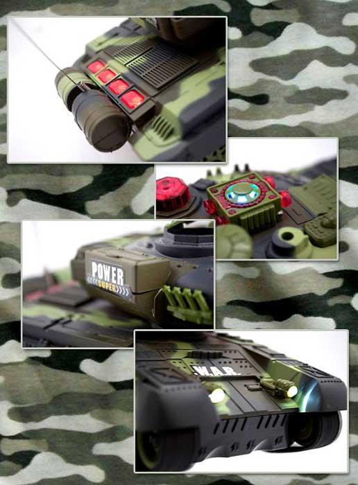 Czołg RC 9993 War Tank Zdalnie Sterowany na Podczerwień 2,4Ghz - VivoSklep.pl