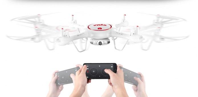 Dron SYMA X5UW-D Funkcjonalny Quadrocopter RC z Kamerą - VivoSklep.pl 6