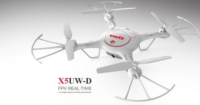 Dron SYMA X5UW-D Funkcjonalny Quadrocopter RC z Kamerą - VivoSklep.pl 1