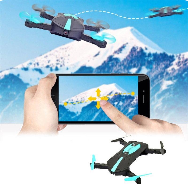 Dron JY018 Składany Mini RC Selfie Quadrocopter z Kamerą Wi Fi HD 360 - VivoSklep.pl 2