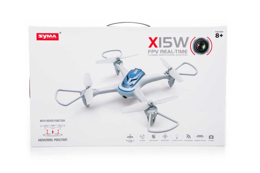 Dron SYMA X15W Quadrocopter RC z Kamerą Wi-Fi FPV 2,4GHz - VivoSklep.pl 7