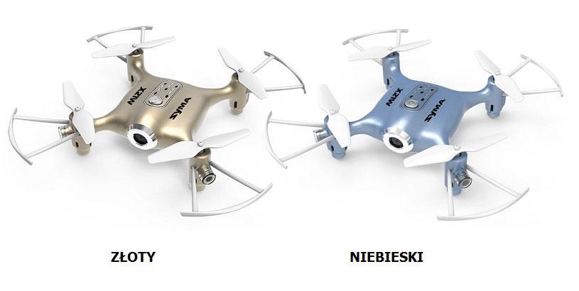 Dron SYMA X21W Miniaturowy RC Quadrocopter z Kamerą FPV Wi-Fi - VivoSklep.pl 3