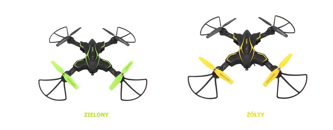 Dron SYMA X56W-P Składany Quadrocopter RC z Kamerą - VivoSklep.pl 3