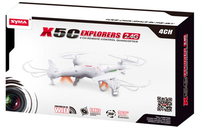 Dron SYMA X5C Quadrocopter RC 4CH 2,4GHz z Kamerą HD - VivoSklep.pl 4