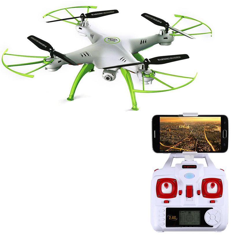 Dron SYMA X5HW Quadrocopter RC z Kamerą FPV Wi-Fi 2,4 GHz - VivoSklep.pl 2